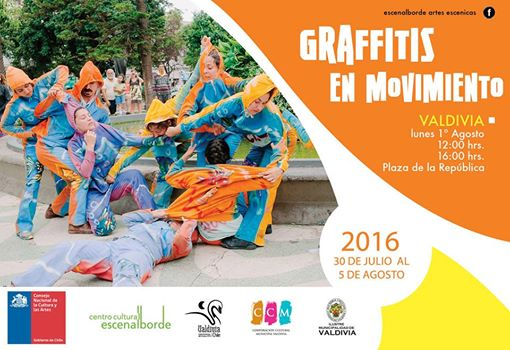 Afiche en Valdivia