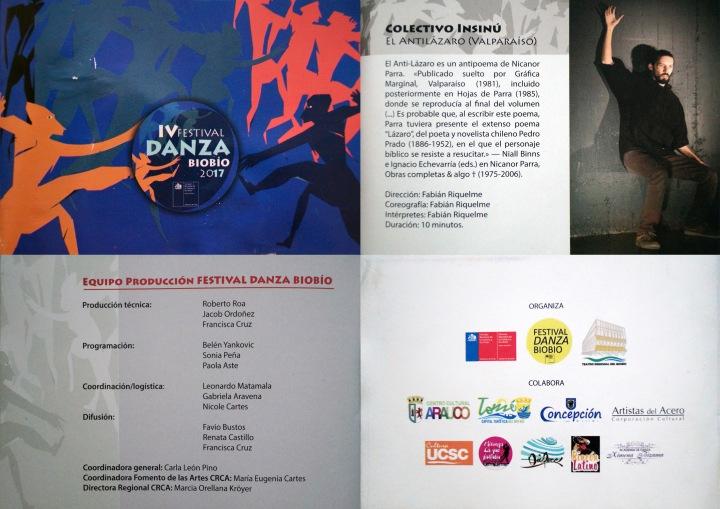 _folleto Festival Danza Biobio 2017